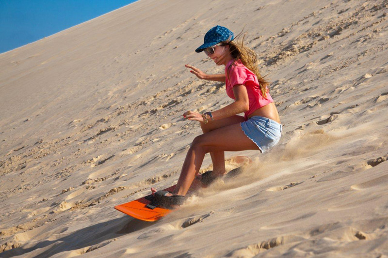 Sand Boarding Cape Town