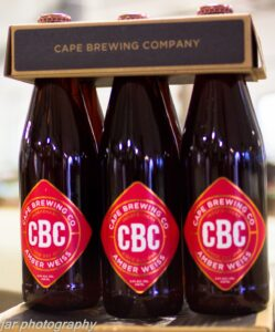 Cape Brewing Company Amber Weiss - Big 5 South Africa Beers