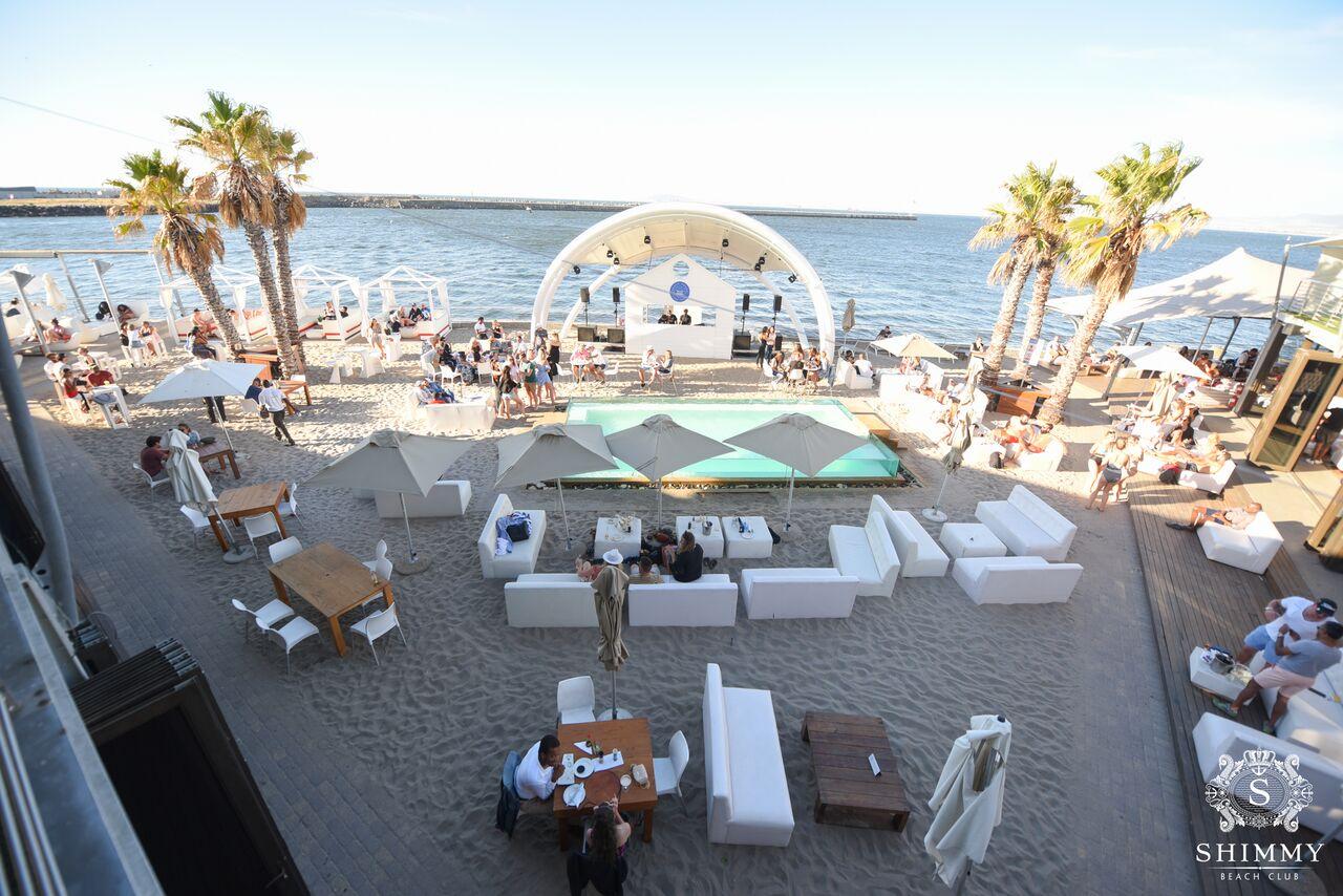 Shimmy Beach Club - Top 5 Beach Bars in Cape Town